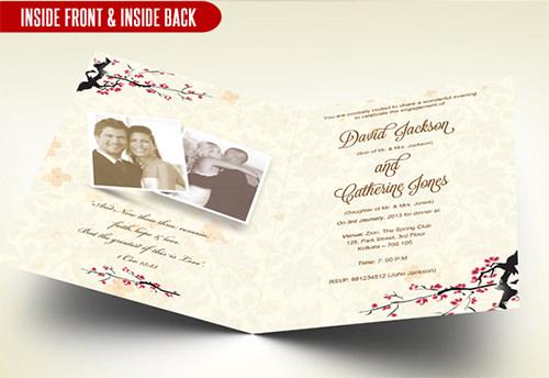 Anniversary Invitation Templates Psd
