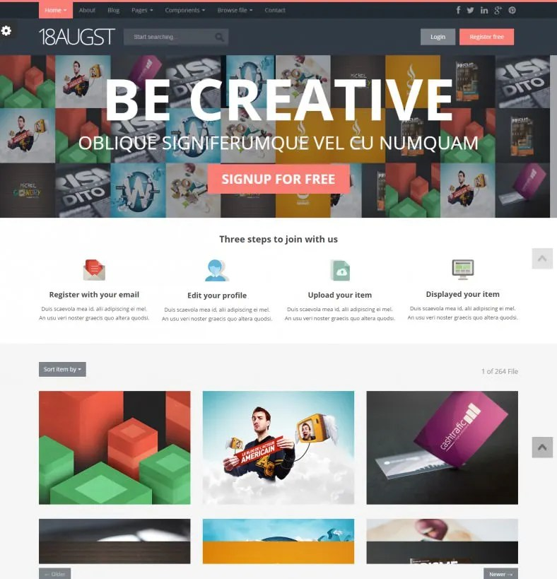 19 Best Html Gallery Templates Themes Free Premium
