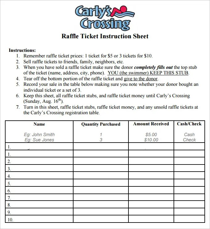 picture about Printable Raffle Tickets Pdf identify raffle card template. absolutely free raffle template pattern raffle