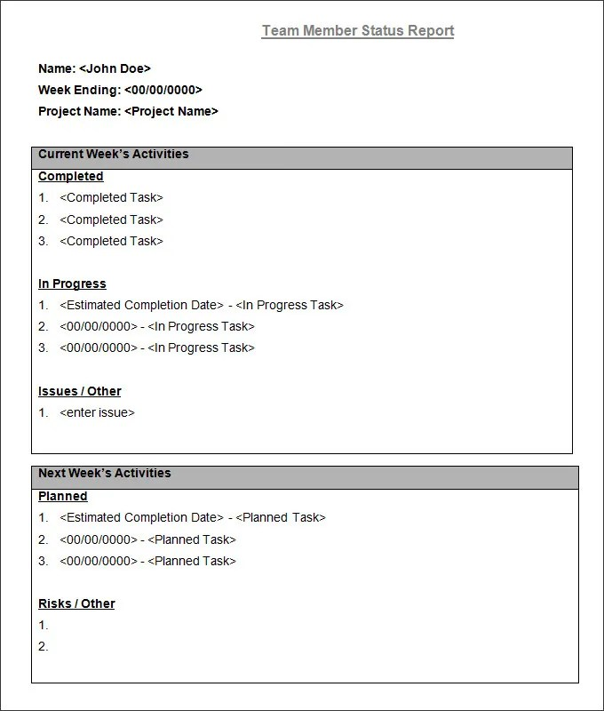 Daily Report Template Word. Temp_Basictaskchecklist_Word Jpg 15