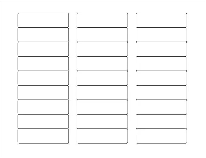 Blank Labels Blank Label Template Free Premium Templates
