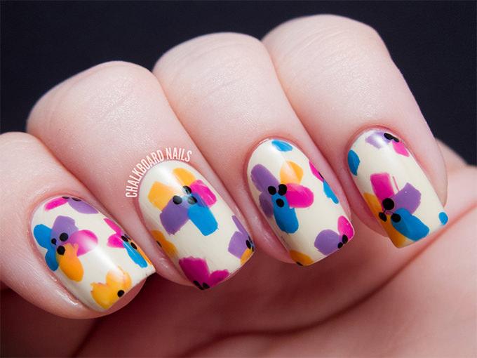 25 Flower Nail Designs Amp Ideas Free Amp Premium Templates