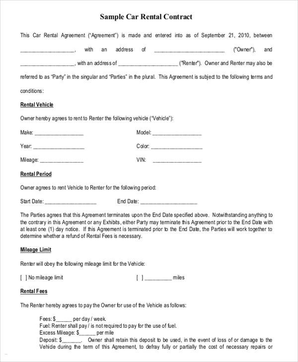 Sample Hiring Agreement