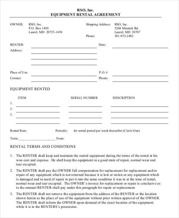 Personal Loan Agreement Word Doc