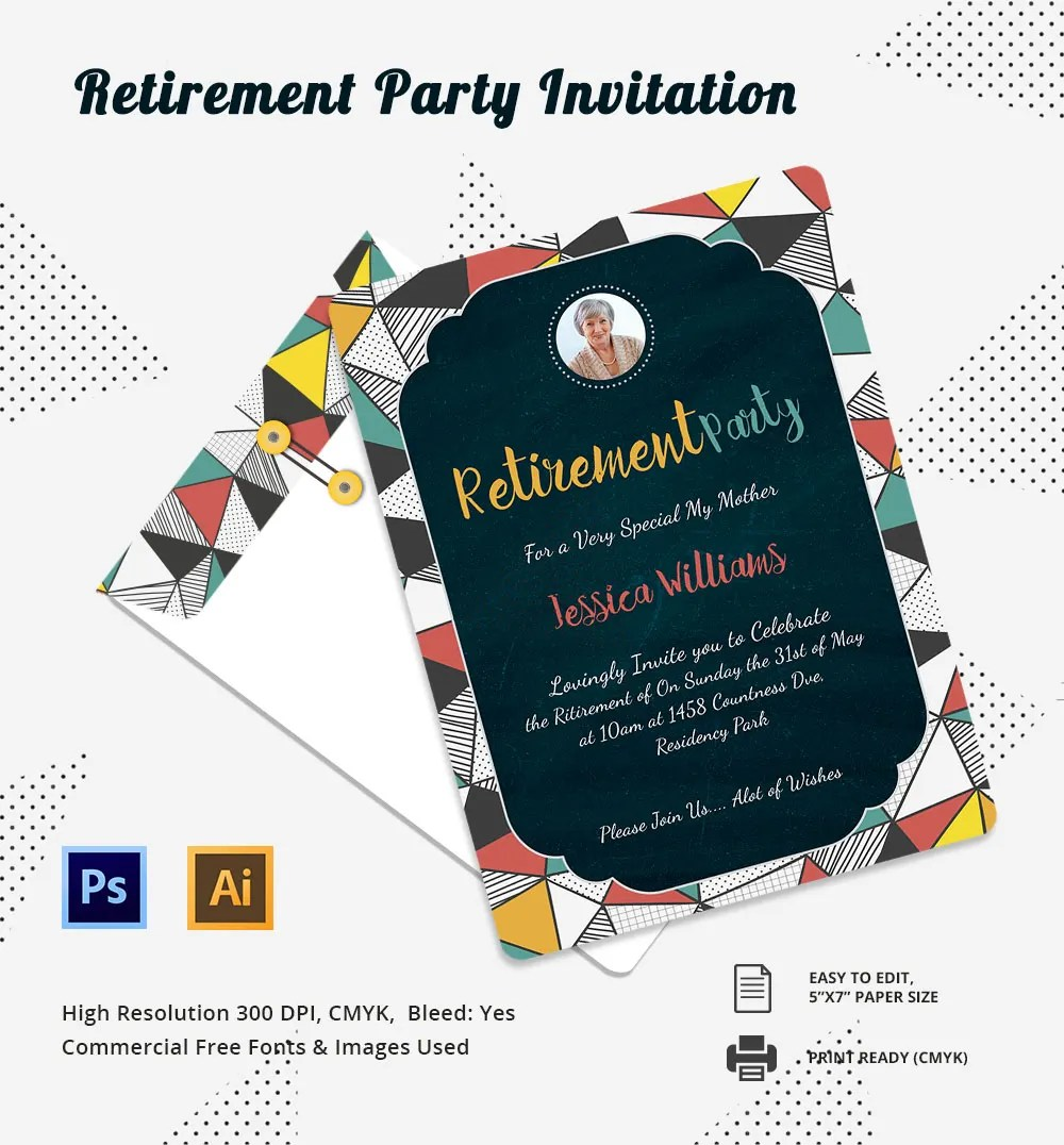 Invitation Party Template