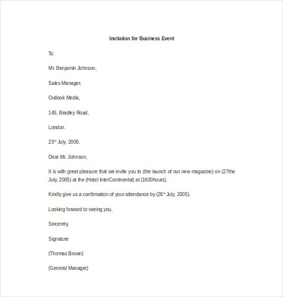 Sample Letter Of Invitation For Guest Speaker Pdf