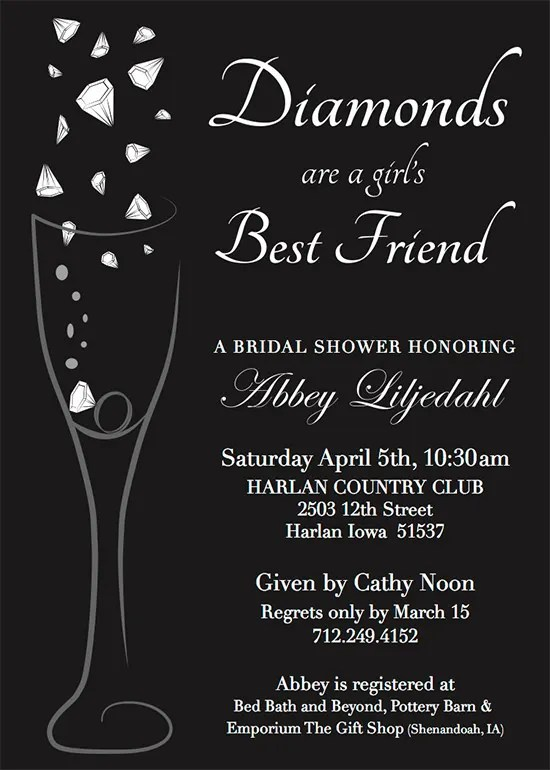 When To Send Out Bridal Shower Invites Photo Album Wedding Goods – When to Send Wedding Shower Invitations