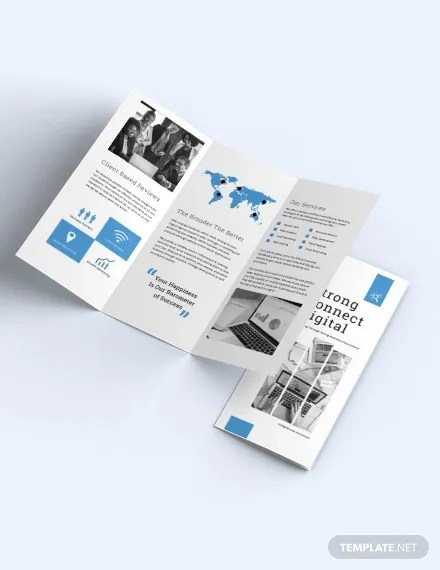 18 Fresh Digital Brochure Templates Free Psd Vector Eps