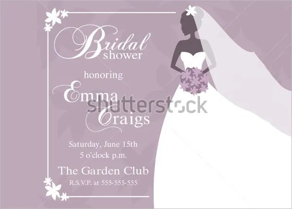 Bridal Shower Invitation Templates Free With Design Invitations Model Card Herrlich Is Very Creativity 16