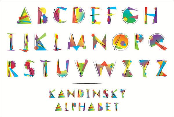 23 Large Alphabet Letter Templates Designs Free