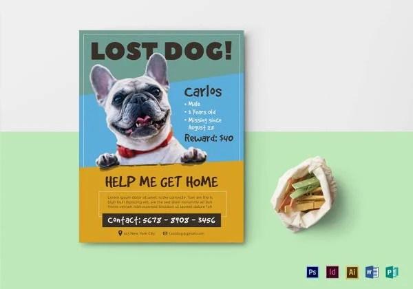 dog flyer template free yerat