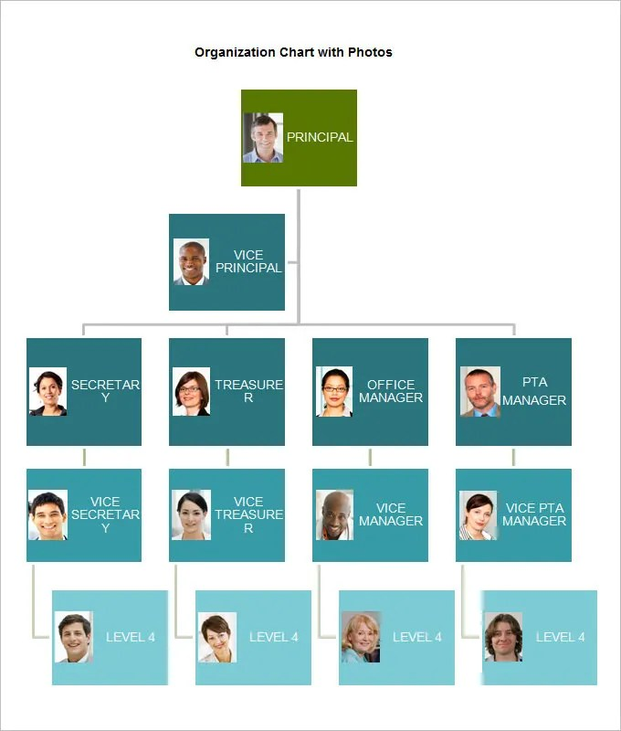 Organizational Chart Template 19 Free Word Excel Pdf