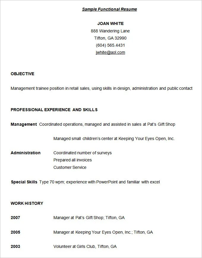 Technical Resume Format. Technical Resume Format For Freshers