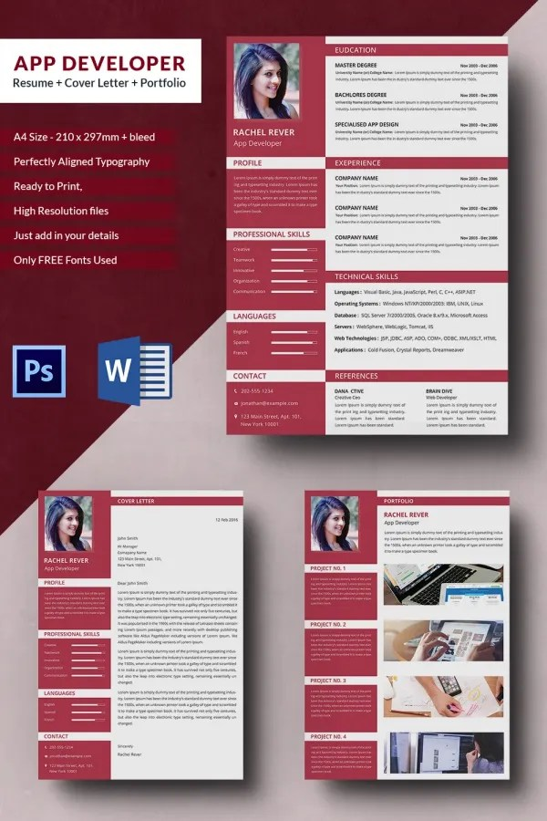 24 PHP Developer Resume Templates DOC PDF Free Amp Premium Templates