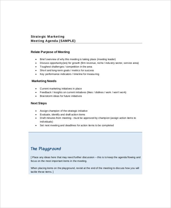 Annual Meeting Agenda Template sample annual meeting agenda – Draft Meeting Agenda