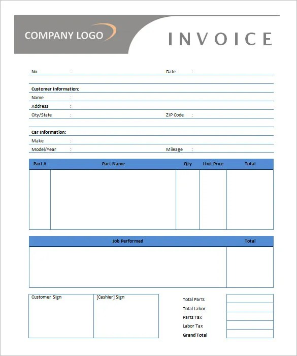 Invoice Word Template Free freight ms free invoice templates – Microsoft Word Invoice Template Free Download