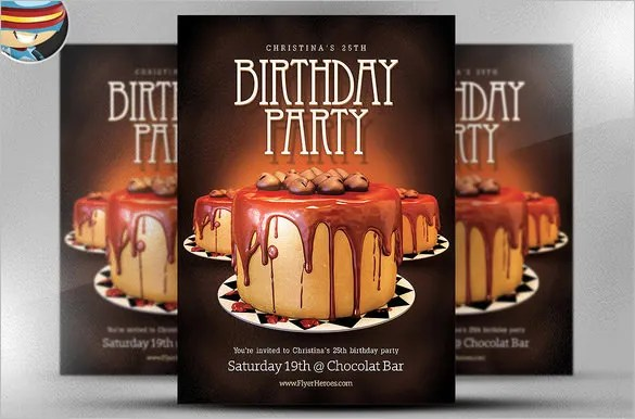 22 Amazing Birthday Party PSD Flyer Templates Word EPS Vector Free Premium Templates