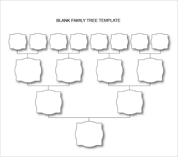 Blank Flow Chart Template For Word  Free Download