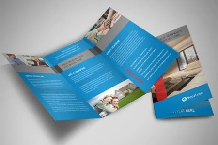 20  Real Estate Brochures     Free PSD  EPS  Word  PDF  InDesign     home for sale tri fold real estate brochure template