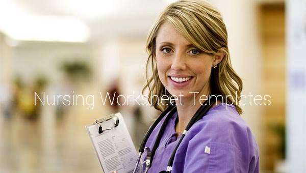 5 Nursing Worksheet Templates