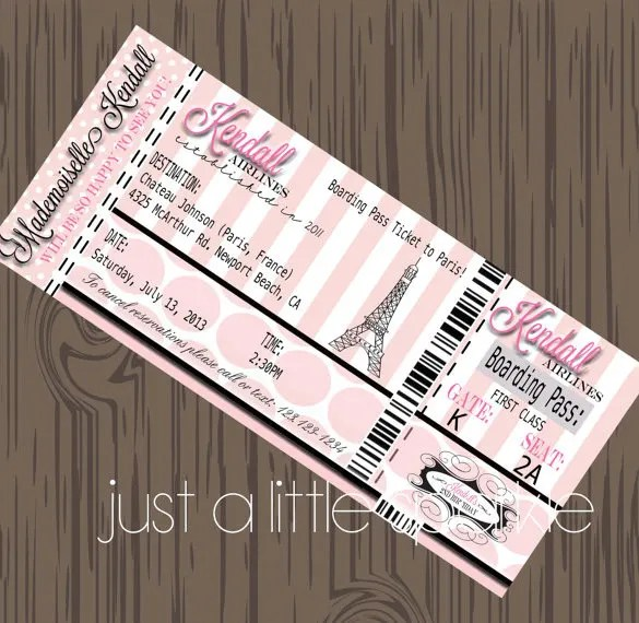 Editable Save Date Cards