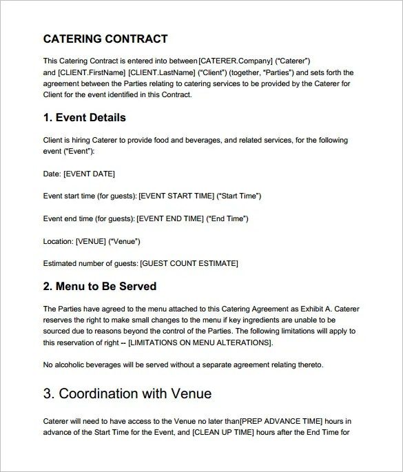 Template Contract format of simple construction contract – Simple Construction Contract