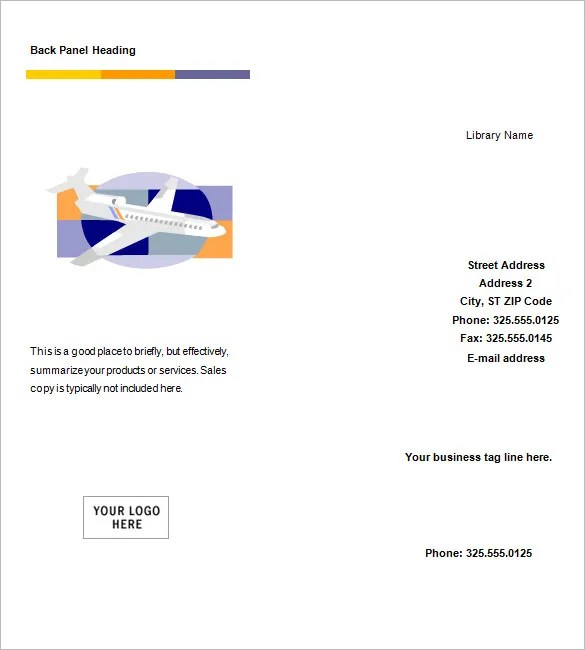Blank Brochure Template Publisher microsoft brochure template 34 – Blank Brochure Template Word