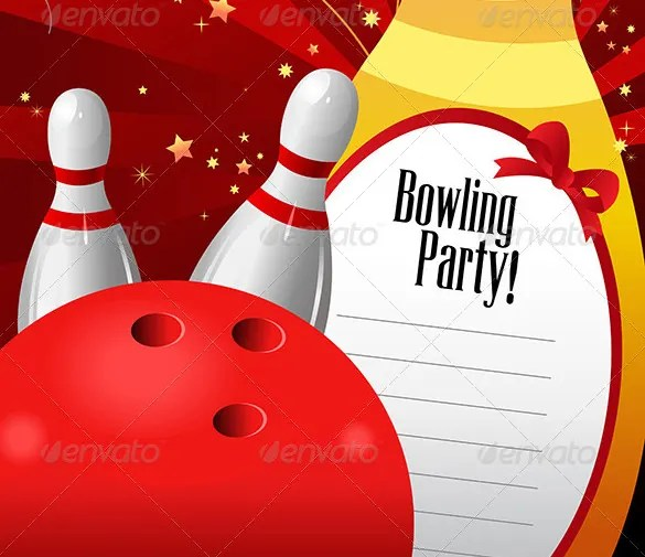Blank Bowling Flyer Free Download