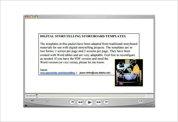 Storytelling Template Visual Storytelling Guide A Guide To