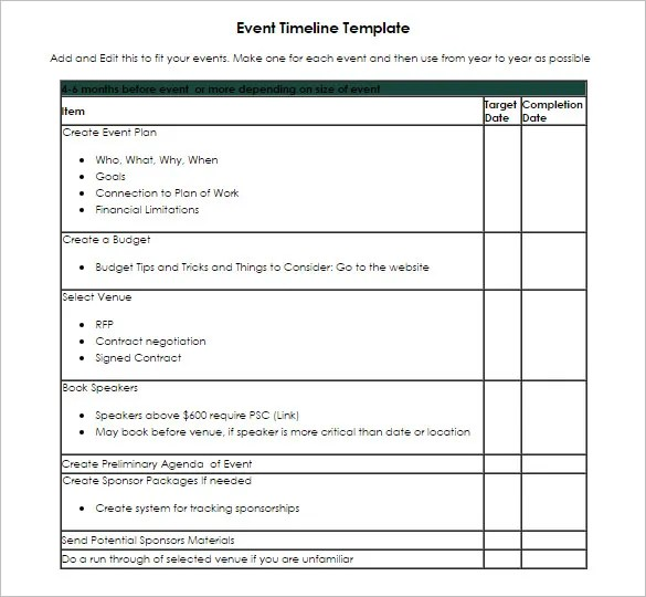 Timeline Template 71 Free Word Excel Pdf Ppt Psd