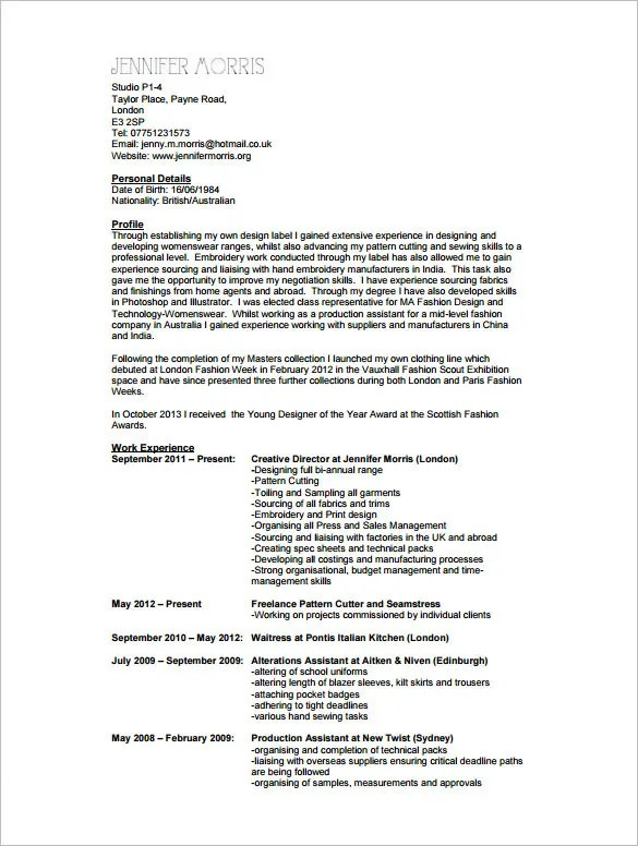 resume text examples a perfect example registered nurse - Resume Sample Format