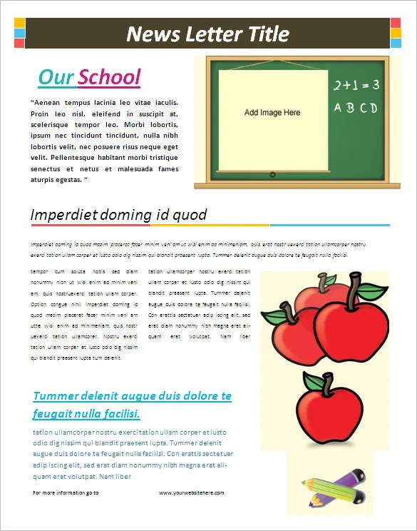microsoft word newsletter templates free download funf pandroid co