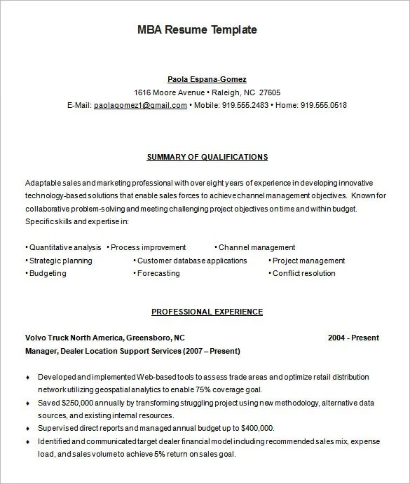 resume mba degree mba degree on resume sample resume of format for