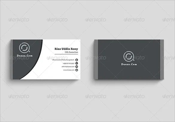 images for business card template pdf