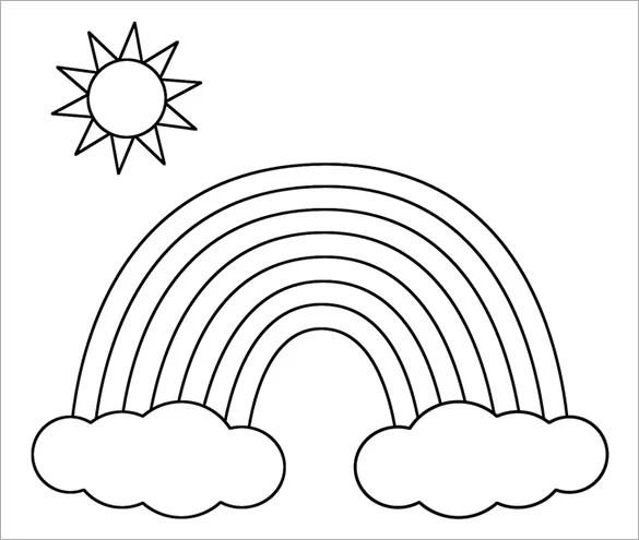8 rainbow templates free pdf documents download free