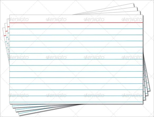 index card template printable index card template and print 3x5 ...