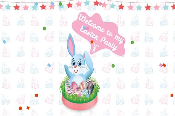 Easter Invitation Cards Templates  CogimboUs