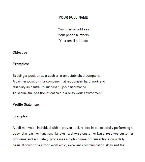 template 16 free samples examples format