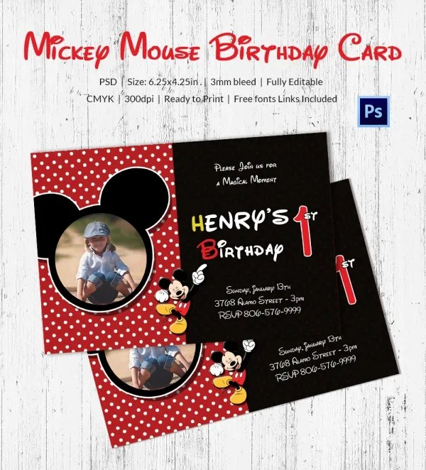 Birthday Card Template 11 Psd Illustrator Eps Format