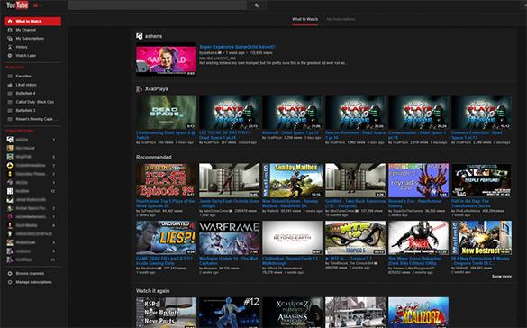 9 Best Youtube Themes Templates 2015 Free Premium