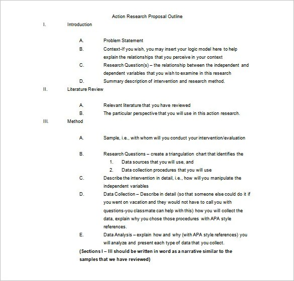 Custom research paper outline