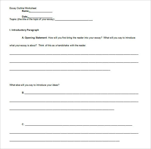Personal Narrative Outline Template. good narrative essay example ...