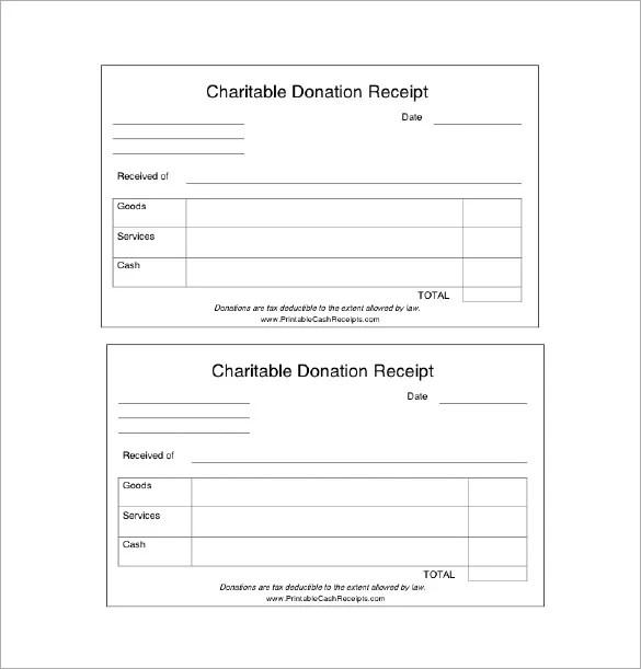 19 Donation Receipt Templates Doc Pdf Free Premium