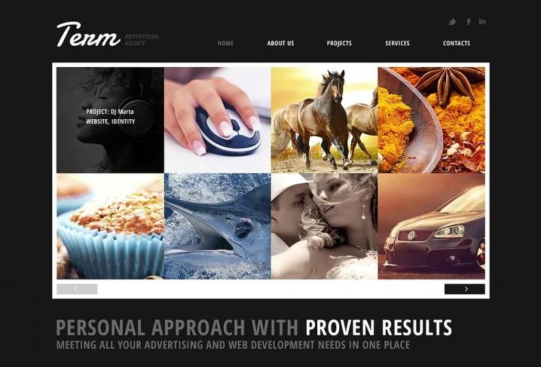 advertising agency website templates amp themes free amp premium