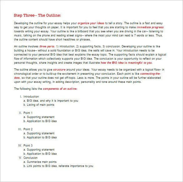 Template Obituary. essay outline 10 free sample example format ...