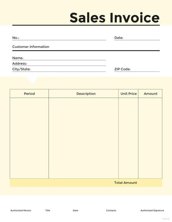 General Invoice Template 27 Free Word Excel PDF Format Download Free Premium Templates
