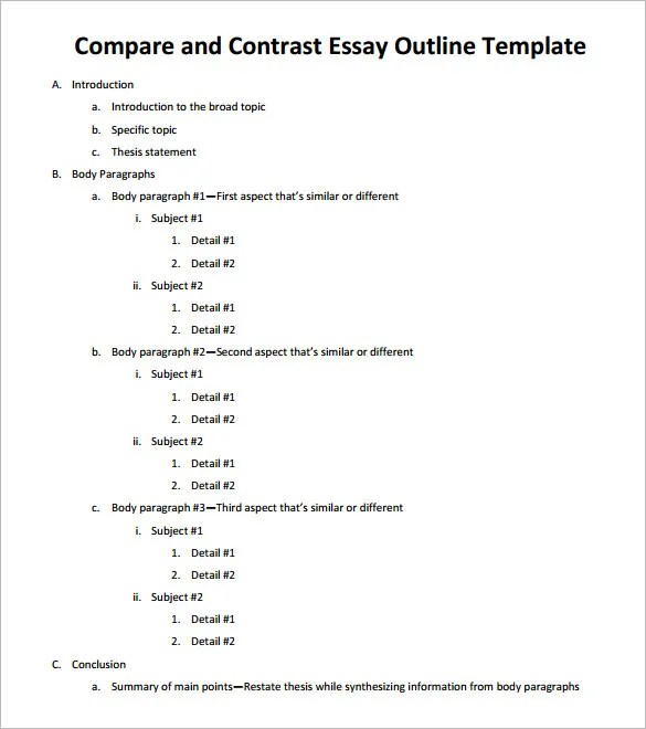 Healthy Lifestyle Essay Comparison Contrast Essay Example Paper Ideas Collection Example Comparison  And Contrast Essay Outline Examples Speech Essay English Sample Essays also Example Of A Thesis Essay Sample Essays High School Essay Thesis Examples With Essay Health  Research Paper Essay Format