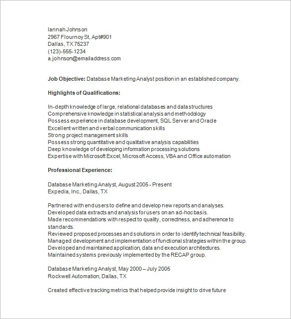 market analyst resume research analyst resume samples resume