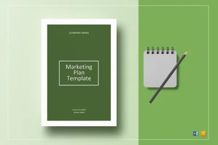 Business Marketing Plan Template   15  Free Sample  Example  Format     marketing plan template