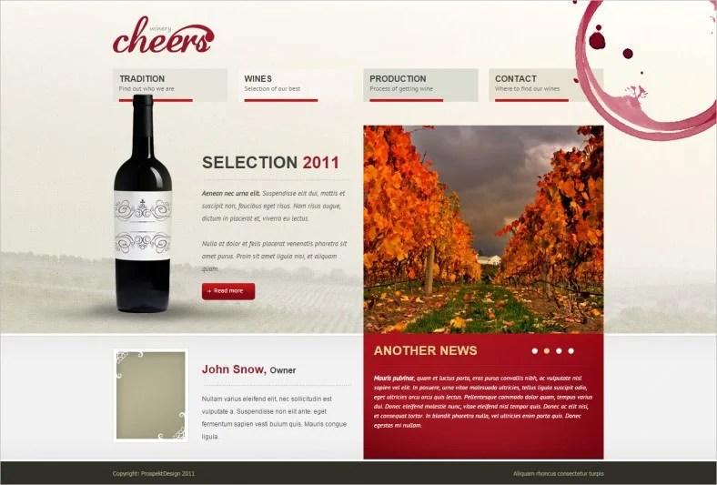 5 Wine Winery Website Templates Amp Themes Free Amp Premium Templates